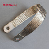 Tira lisa flexível de cobre estanhada
