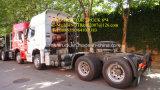 Carro del alimentador de Sinotruk 6*4 CNG