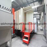 Fast Color Change를 위한 최신 Sell Customized Powder Coating Booth
