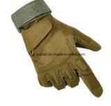 Voll-Finger ledernes Militär bekämpft taktische Handschuhe