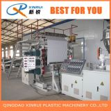 Extrusora de folha plástica do PVC que faz a máquina