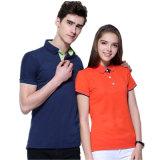 Camisa de polo promocional del algodón de los varios colores de encargo