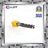 Laminatoio di estremità del carburo dell'acciaio di tungsteno di CNC per HRC 50 gradi
