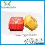 A fábrica personalizada recicl a caixa de papel do Hamburger com cópia