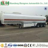 Топливо Axle 45m3 химиката 3 навальные/масло/газолин/жидкостный общего назначения топливозаправщика тележки трейлер Semi