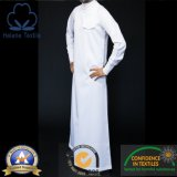 Белая аравийская ткань Thobe
