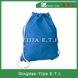 Blaue farbige Baumwolle Cinchpack
