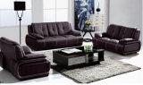 Sofá de cuero negro, sofá moderno, sofá de la sala de estar (B. 939)