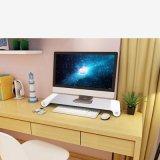 Tischplattenmonitor-Standplatz-Organisator mit 4 USB-Kanälen