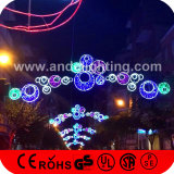 Luces al aire libre Illuminating decorativas de la bola de la Navidad al por mayor LED