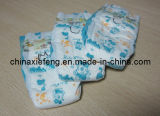 Cloth disponible Baby Diapers en Velcro Tape