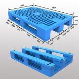 Plastic Pallet met de Bodem van 3 Agenten, Open Dek