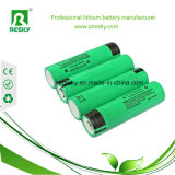 NCR18650A de beschermde Batterijcel 3100mAh van het Lithium Rechargeable18650
