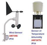安定した品質のステンレス製センサーが付いている気象台