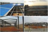 Taller industrial ligero prefabricado de la estructura de acero