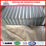 Hoja de acero acanalada del material para techos del Galvalume