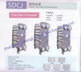 Unidad eficiente del cambiador de calor de la placa del cambiador de calor de la placa