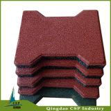 運動場の多彩のゴム製床タイル