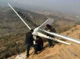 Turbina de viento de 5 kilovatios con el material antioxidante