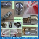 Máquina de alta presión de la limpieza del tubo de alcantarilla de la boquilla de la limpieza del tubo de desagüe