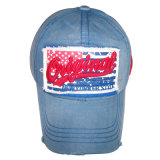 Gorra de béisbol lavada venta caliente con la corrección Gjwd1740