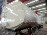 Sale를 위한 50m3 Steel Liquid Fuel Transport Tank Tractor Trailer