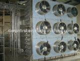 Congelador dobro de Spiral IQF/congelador Machine de Industrail Quick para Fish
