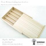 Hongdaoの木製のペンボックス、クリスマスの贅沢な木の表示クラフトボックスWholesale_D