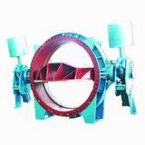 Válvula borboleta de entrada de turbina
