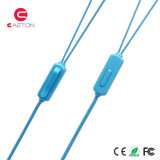 3.5mm Jack Plastic Earphone met Microfoon