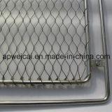 Tipo tessuto reticolato della maglia della fune metallica dell'acciaio inossidabile/tipo del puntale