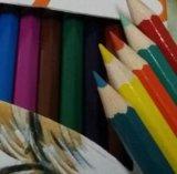 Карандаш цвета полной величины 7 дюймов (SKY-031)
