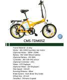 велосипед миниой складчатости 20 '' Ebike электрический с светами СИД