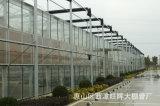 Kommerzielles intelligentes Multispan Glas China-Gewächshaus-Verweisen Zubehör von der Fabrik