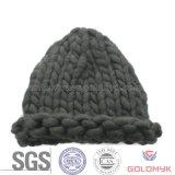 Acrylic bold(realce) Yarn Crochet Hat para Winter