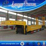 2 Aanhangwagen van de Lader van het Type van Pool van de as de Lage, 30 van het Graafwerktuig Ton Aanhangwagen van het Vervoer van de Semi voor Verkoop