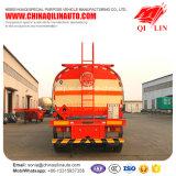 Трейлер топливозаправщика битума асфальта Axles Qilin 3 изолированный переходом Semi