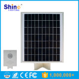integriertes Solarder straßenlaterne12w mit Fühler-Funktion, alle in einer Solarstraßenlaterne-Fabrik