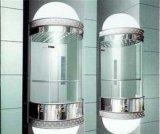 Intero elevatore panoramico di vetro, elevatore facente un giro turistico