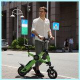 Bicicleta eléctrica del plegamiento sin cadena de la batería de litio 36V 250W con la visualización del LCD