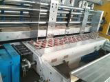 Impresión de tinta del agua de Flexo de 4 colores que ranura la máquina que corta con tintas