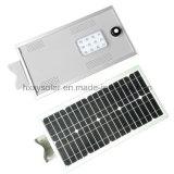 Indicatore luminoso esterno 12W tutto di prezzi di fabbrica in un indicatore luminoso di via solare del LED con 3 anni di garanzia
