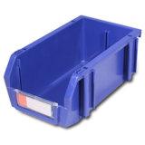 Escaninhos de armazenamento plásticos da capacidade enorme com divisores desobstruídos