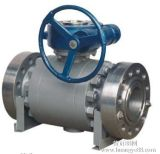Entrata Trunnion Ball Valve con Manul o Pneumatic