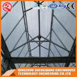Serra di vetro commerciale del giardino dell'acciaio inossidabile di agricoltura