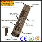 特許を取られる新しいクリー族LEDの懐中電燈が付いているスタン銃を