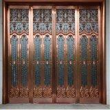 feuilles décoratives colorées plaquées par cuivre d'acier inoxydable en métal de 1.0mm pour le revêtement de mur