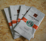 カスタマイズされたグラビア印刷の印刷のコーヒー正方形の底コーヒーバッグ
