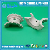 25mm Intalox eccellente di ceramica con acido eccellente & resistenza termica