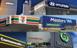 7-11 Panneau-Aludong composé en aluminium de décoration principale de Shopfronts